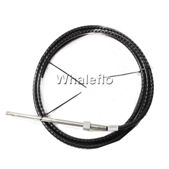Marine steering pull push cable