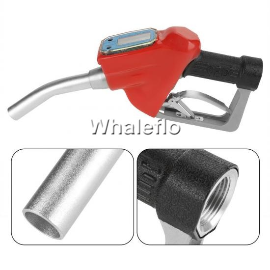 Whaleflo nozzle with flow meter